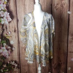 Sun & shadow kimono/cover up size S-M